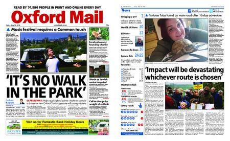 Oxford Mail – May 25, 2018