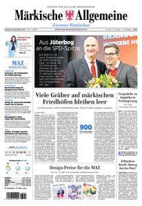 Märkische Allgemeine Zossener Rundschau - 20. November 2017