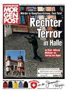 Hamburger Morgenpost – 10. Oktober 2019