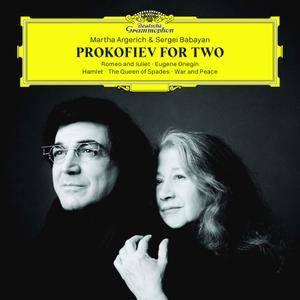 Martha Argerich & Sergei Babayan - Prokofiev for Two (2018)
