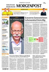 Solinger Morgenpost – 23. Mai 2019