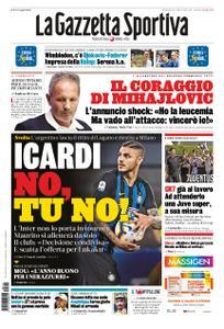 La Gazzetta dello Sport Roma – 14 luglio 2019