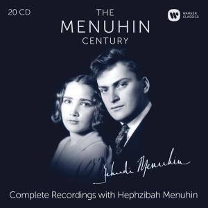 Yehudi Menuhin - The Menuhin Century: Complete Recordings with Hephzibah Menuhin (2016) (20 CD Box Set)
