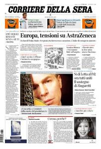 Corriere della Sera - 12 Marzo 2021