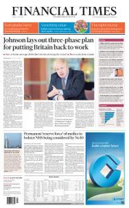 Financial Times UK - May 11, 2020