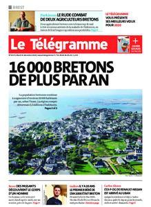 Le Télégramme Brest – 31 décembre 2019