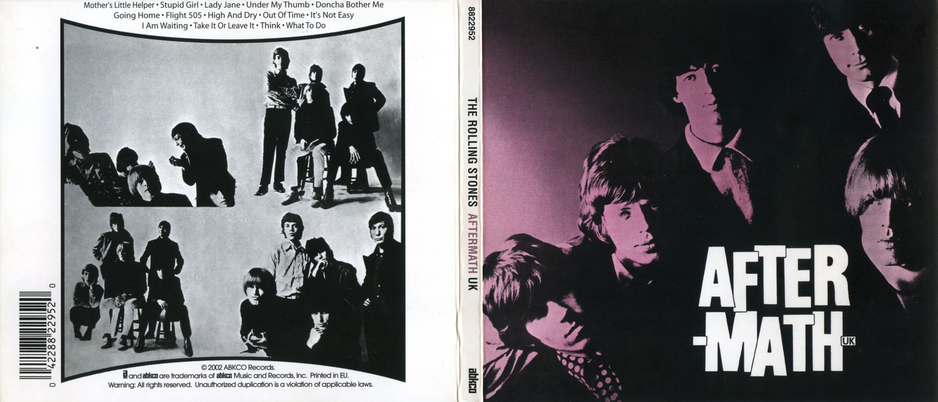 The Rolling Stones - Aftermath (1966) [3 Releases] / AvaxHome