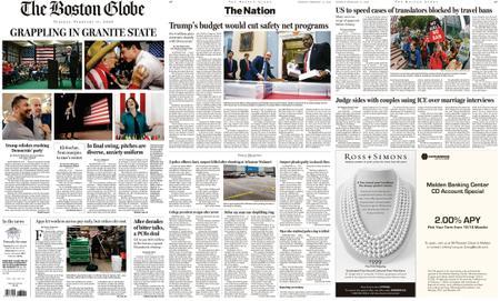 The Boston Globe – February 11, 2020