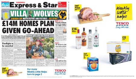 Express and Star Sandwell Edition – October 31, 2019