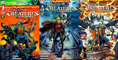 Frankenstein Y Las Criaturas De Lo Desconocido #1-3 (Cross-over)
