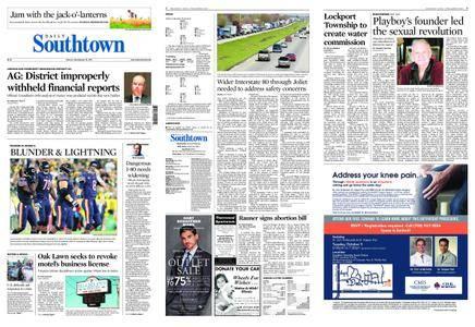 Daily Southtown – September 29, 2017