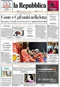 la Repubblica - 23 Settembre 2019