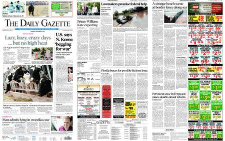 The Daily Gazette – September 05, 2017