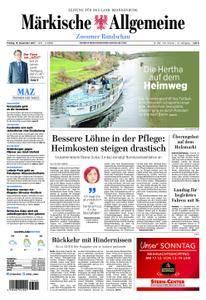 Märkische Allgemeine Zossener Rundschau - 15. Dezember 2017