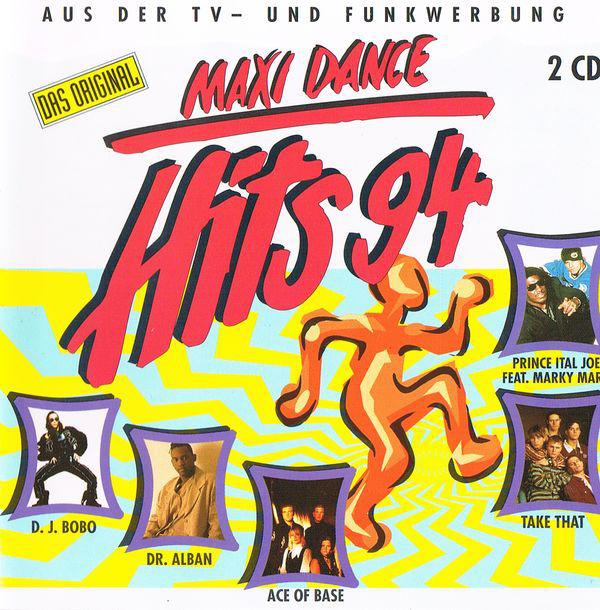 VA - Maxi Dance Hits 94 (1994)