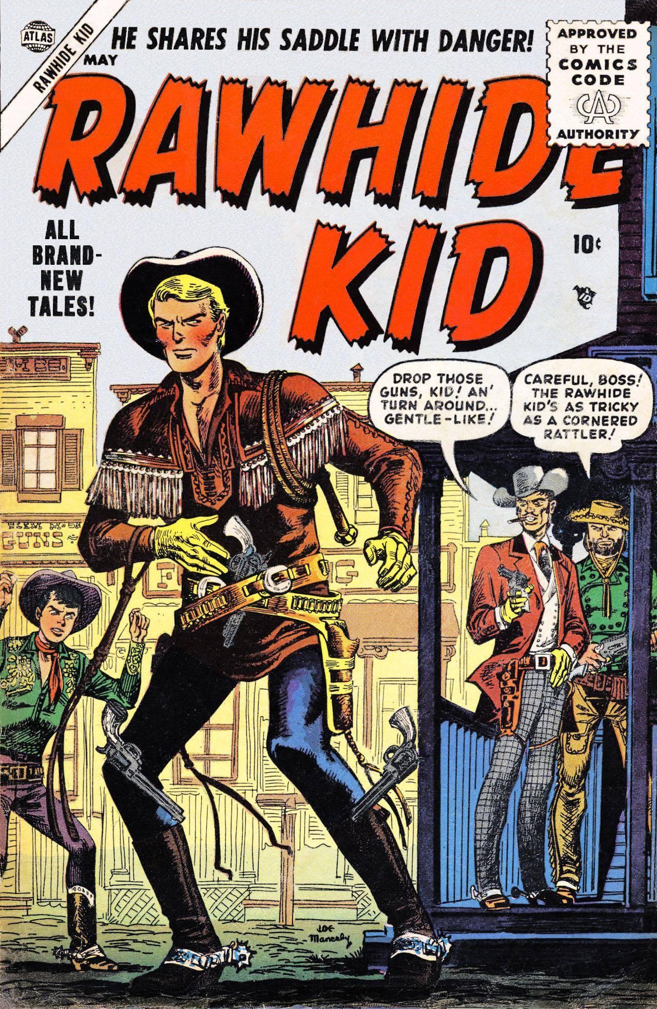 Rawhide Kid v1 002 1955