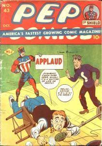 Some 40s  50s Archie  Friends -Pep Comics 43 1943