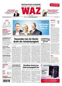 WAZ Westdeutsche Allgemeine Zeitung Oberhausen-Sterkrade - 26. Oktober 2017