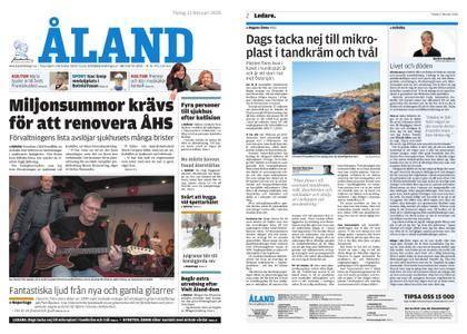 Ålandstidningen – 13 februari 2018