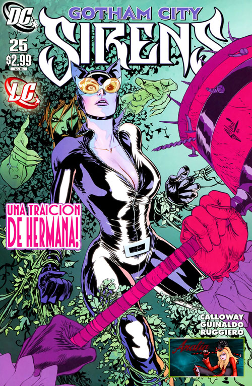 Las Sirenas de Gotham City #25 (2011)