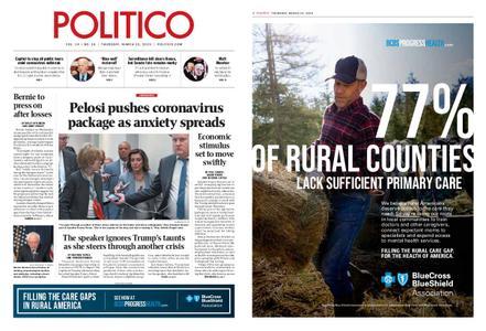 Politico – March 12, 2020