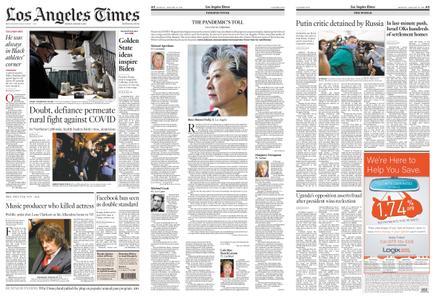 Los Angeles Times – January 18, 2021