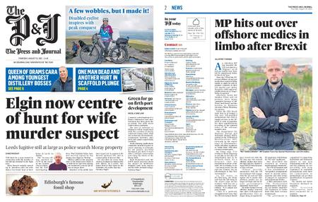 The Press and Journal Moray – August 19, 2021