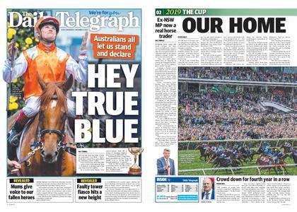The Daily Telegraph (Sydney) – November 06, 2019