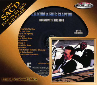 B.B. King and Eric Clapton - Riding With The King (2000) [Audio Fidelity 2015] PS3 ISO + Hi-Res FLAC