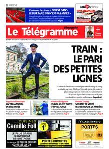 Le Télégramme Brest Abers Iroise – 11 octobre 2020