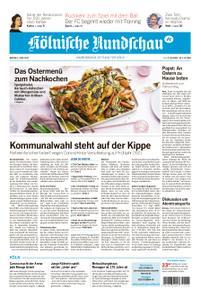 Kölnische Rundschau Wipperfürth/Lindlar – 06. April 2020