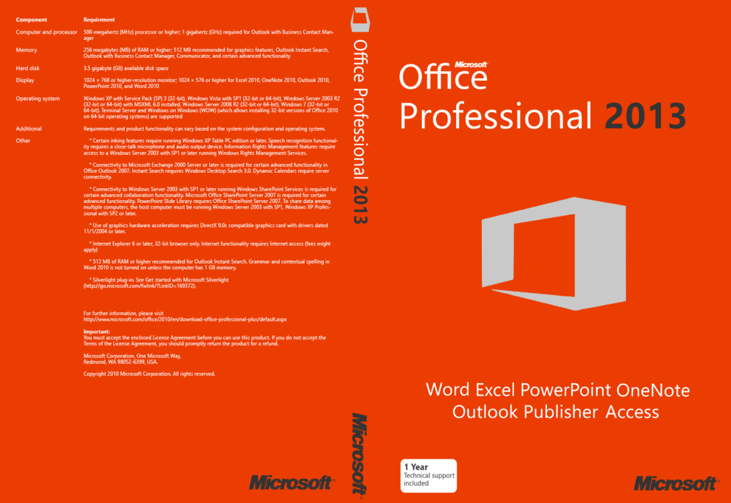 Microsoft Office Professional Plus 2013 SP1 15.0.5041.1001 June 2018
