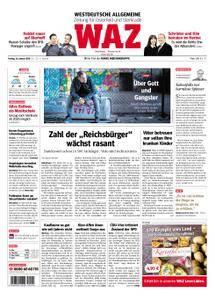 WAZ Westdeutsche Allgemeine Zeitung Oberhausen-Sterkrade - 26. Januar 2018