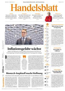 Handelsblatt - 22 Februar 2021