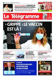 Le Télégramme Ouest Cornouaille – 13 octobre 2020