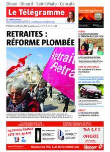 Le Télégramme Dinan - Dinard - Saint-Malo – 18 octobre 2019