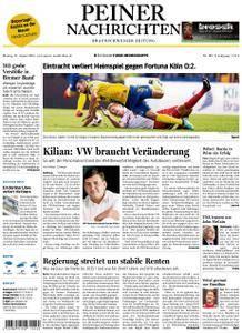 Peiner Nachrichten - 27. August 2018