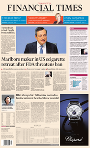 Financial Times Europe – 26 October 2018
