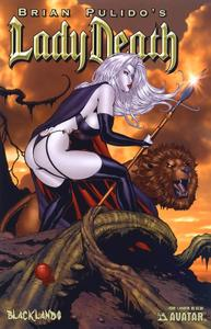 Lady Death-Blacklands 01 2006 6 variants Ori