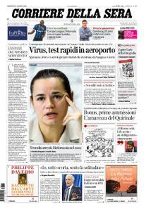 Corriere della Sera – 11 agosto 2020