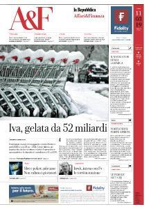 La Repubblica Affari & Finanza - 11 Marzo 2019