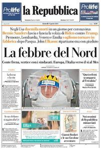 la Repubblica - 9 Aprile 2020