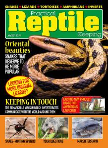 Practical Reptile Keeping - July 2021