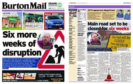 Burton Mail – September 14, 2018