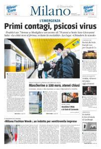il Giornale Milano - 23 Febbraio 2020