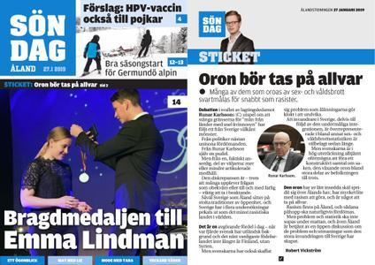 Ålandstidningen – 27 januari 2019