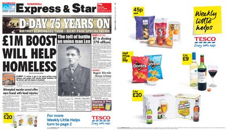 Express and Star Sandwell Edition – June 06, 2019