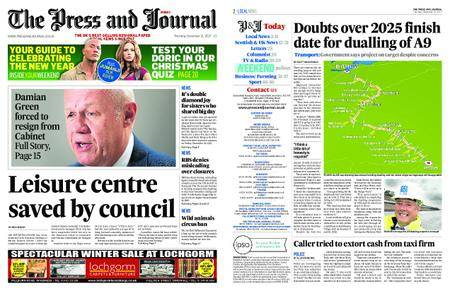 The Press and Journal Moray – December 21, 2017