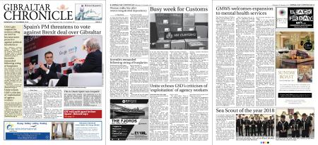 Gibraltar Chronicle – 21 November 2018