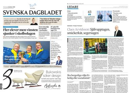 Svenska Dagbladet – 01 oktober 2018